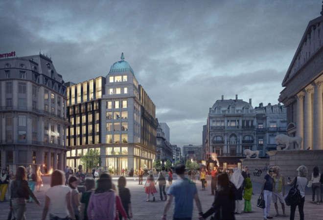 VDD werd geselecteerd als koper van het voormalige Actiris-kantoorgebouw te Brussel.
