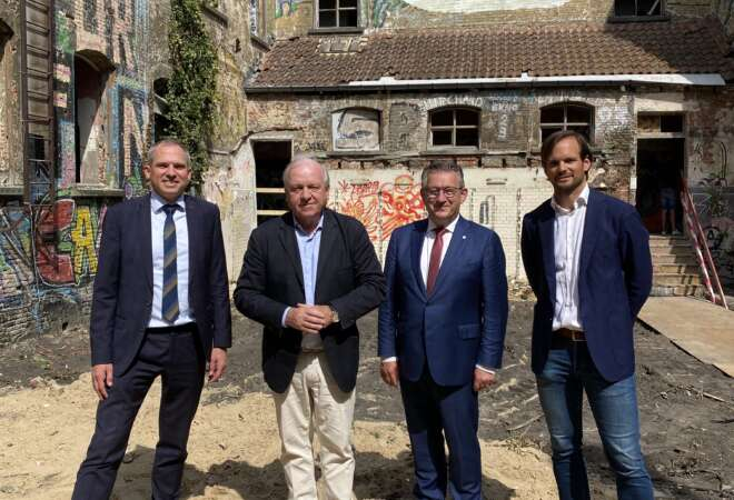 Start der werken: de historische Weylerkazerne in Brugge hertekend