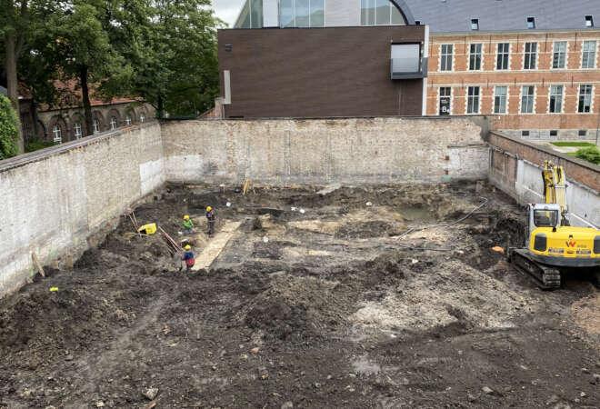 Huis van Hamme - archeologische vondsten