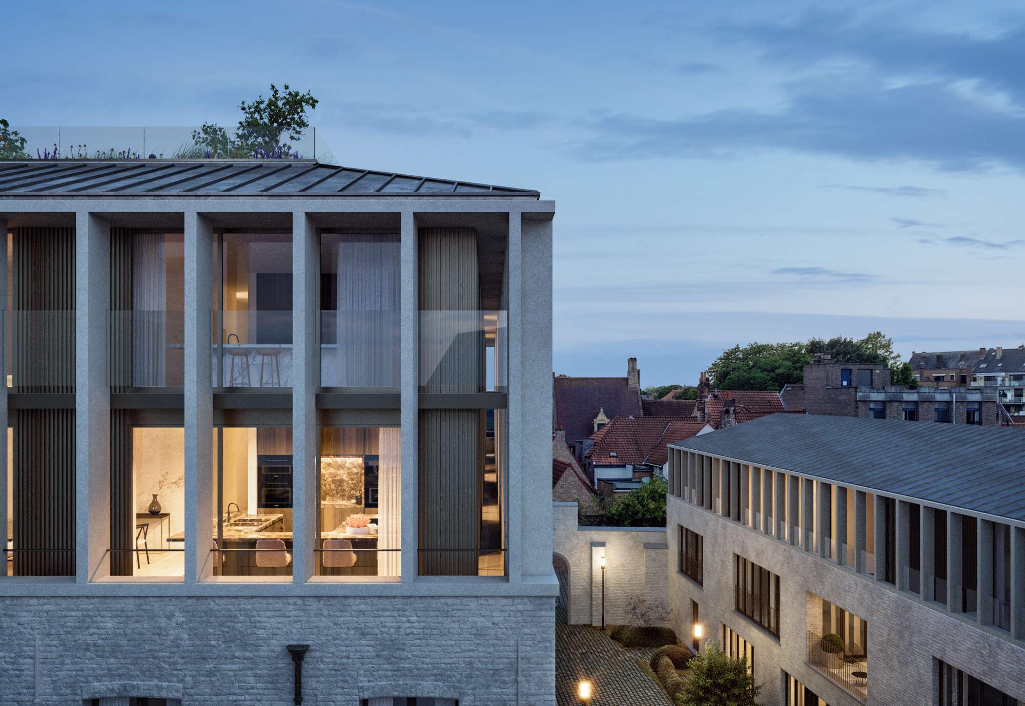 De Weylerkazerne in Brugge vervangen door een derde bouwlaag